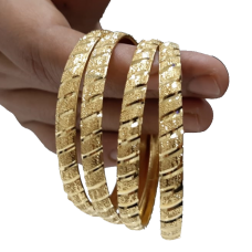 24 Karat Gold Bangles with 999.9 purity