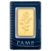100 Gm PAMP Suisse Gold bar 999.9 Purity