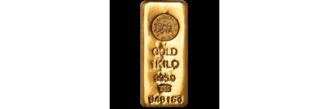 1 Kg Gold Bar