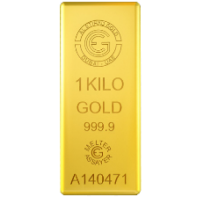 1 Kg Etihad Gold Bar with 999.9 Purity