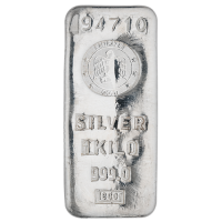 1 Kg Emirates Silver Bar with 999.0 Purity