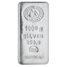 1 Kg Nadir Silver Bar with 999.0 Purity
